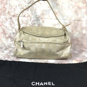 Authentic Chanel Canvas Cosmetic Cases